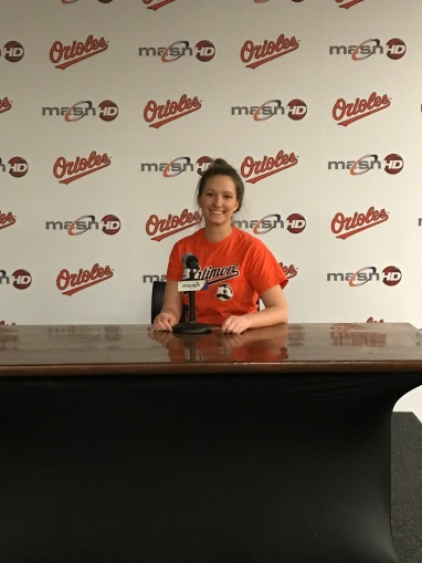 lauren post game interview room